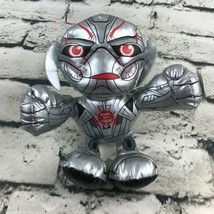 Marvel Ultron Plush Silver Red Talking Stuffed Animal Avengers Villian S... - $9.89