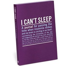 Knock Knock I Can't Sleep Mini Inner-Truth Journal  - $18.00