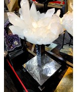 CRYSTAL QUARTZ FROM BRAZIL MINERAL ROCK INCREDIBLE FORMATIONS Sticker $1... - $162,000.00