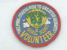 Vintage Girl Scout Brownie 1983 Volunteer Patch Cookie Rally 25165 Badge - $14.80