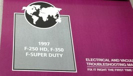 1997 Ford Camion F-250 F350 F250 450 550 Câblage Électrique Diagramme Ma... - $99.54