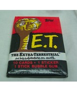 Vintage 1982 TOPPS ET E.T. The Extra-Terrestrial Unopened Wax Pack of Ca... - $12.38