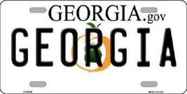 "NCAA Georgia Bulldogs License Plate  State Background Metal Tag U.S.A."" - $9.85"