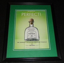 2006 Patron Silver Tequila Framed 11x14 ORIGINAL Vintage Advertisement - $32.36