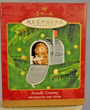 Hallmark - Friendly Greeting - 2000 - Mailbox - Ornament - $11.61