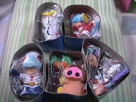Tatsunoko Character sofvi piggy bank all 5pcs set collectible anime A48 - $420.00