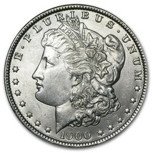 1900 Morgan Silver Dollar Brilliant Uncirculated Proof Like  - $72.50