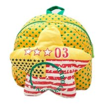 Yellow Star Infant Lovely Knapsack Cute Baby Bag Toddler Backpack 1-4Y