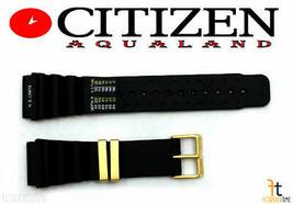 Citizen Aqualand 5862-F80103 19mm Caoutchouc Noir Bracelet de Montre - $71.45