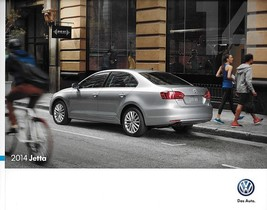2014 Volkswagen JETTA brochure catalog 2nd Edition VW TDI GLI Edition 30... - $8.00