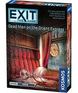 Exit: Dead Man on The Orient Express | Exit: The Game - A Kosmos Game | ... - $10.71