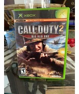 Call of Duty 2: Big Red One (Microsoft Xbox, 2005) And Call Of Duty Fine... - $7.70