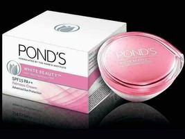 Ponds White Beauty Spot Less Daily Lightening Cream SPF 15 PA++ 50 GM - $9.90