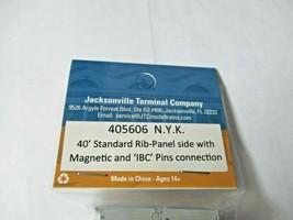Jacksonville Terminal Company # 405606 N.Y.K. 40' Standard Container (N image 2