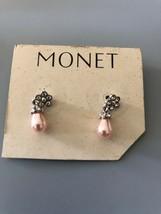 Vintage Monet Earrings - $5.93