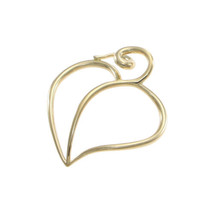 Tiffany & Co. Paloma Picasso Large Open Heart Necklace Pendant 18k Yellow Gold - $519.79