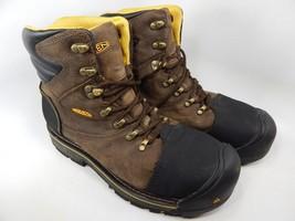 "Keen Milwaukee 6"" Size 12 2E WIDE EU 46 Men's Steel Toe Work Boots Shoes 1007976"