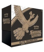 Pokemon Shining Legends Elite Trainer Box Collectible Cards - $51.47