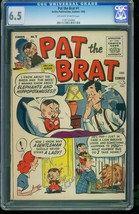 Pat the Brat #1 1955 -CGC 6.5 2nd Highest- Archie -SOUTHERN STATES 11971... - $272.81