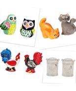 Salt and Pepper Shaker Sets Ceramic Boston Warehouse New  - $17.99
