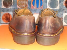 Smooth Oxfords 12 13 UK Eye 4 Sz Brown Leather Martens Dr vx8Yqp0