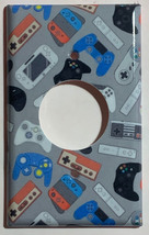video games controller Light Switch Outlet wall Cover Plate Home Decor image 4