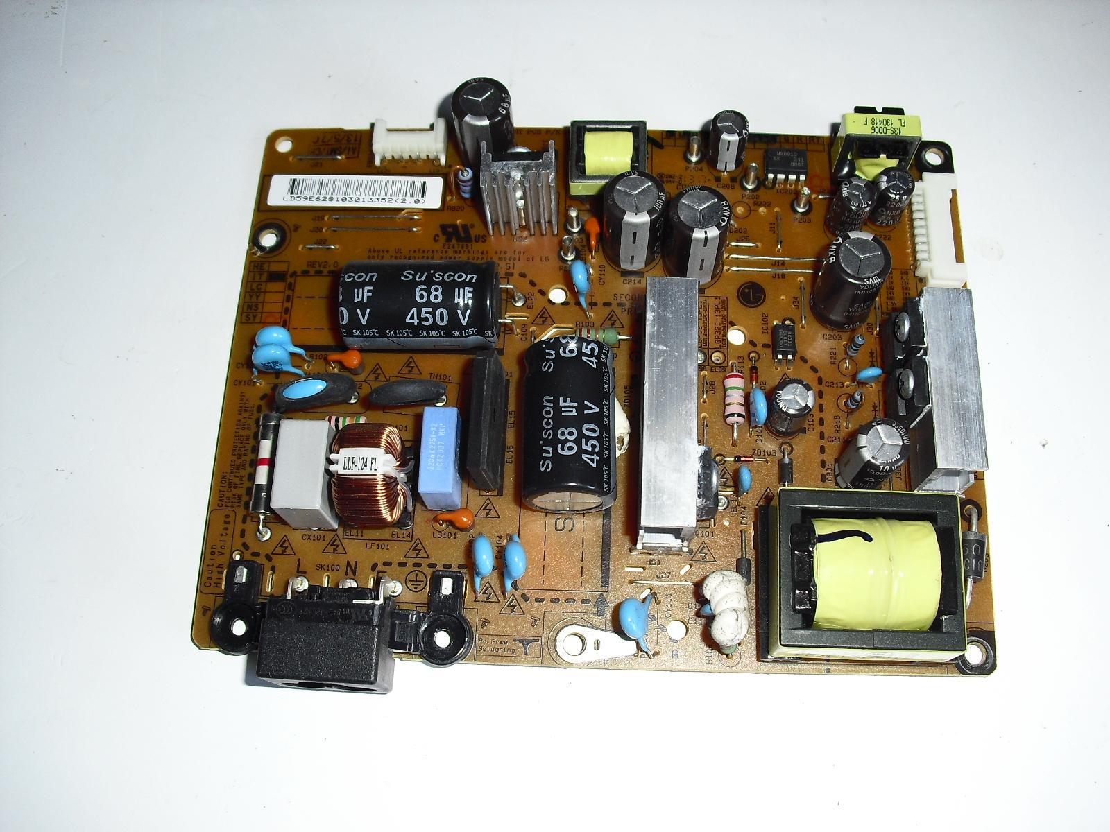 eax64905001   2.6   power  board  for  Lg   32Ln530b image 2