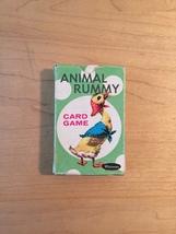 Vintage Whitman card game: ANIMAL RUMMY