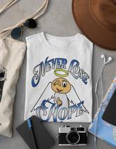 Never Lose Hope Shirt | Angel Shirt | Positive Quote Shirt | Christian Apparel image 1