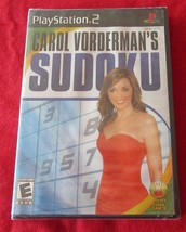 Carol Vorderman's Sudoku (Sony PlayStation 2, 2007) Brand New - $5.09