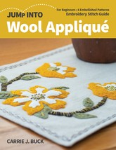 C & T Publishing-Jump Into Wool Applique - $21.63