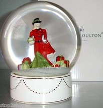 Royal Doulton Snow Globe Christmas Gifts Pretty... - $54.90