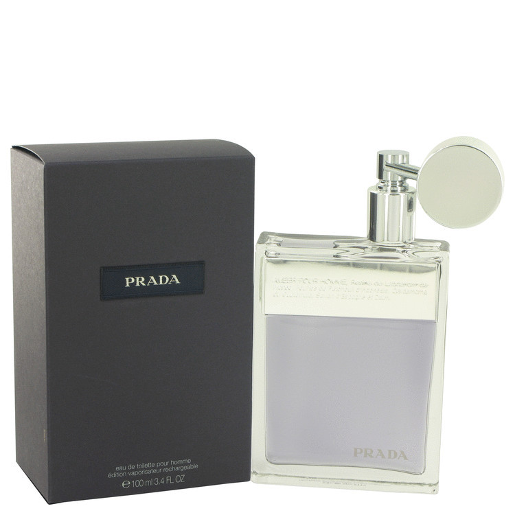 Prada 3.4 Oz Eau De Toilette Refillable Cologne Spray