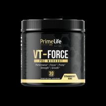 PrimeLife Nutrition Vt-Force Pre-Workout Powder Energy Drink Strawberry Kiwi, 30 - $39.00