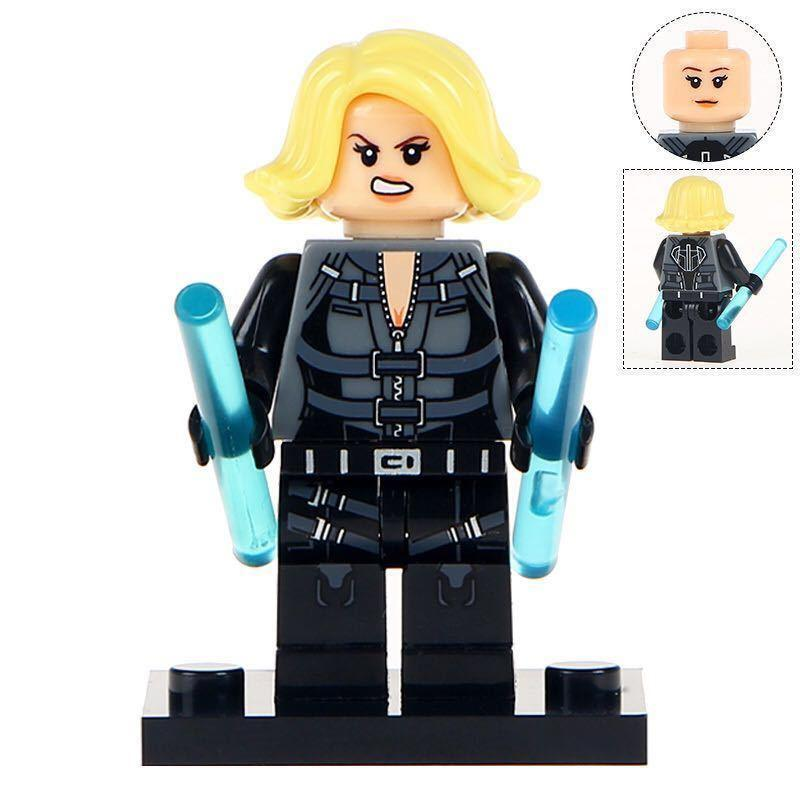 Black Widow Marvel Universe Avengers Infinity War Lego Moc ...