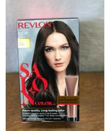 REVLON SALON COLOR - #4 DARK BROWN - COLOR BOOSTER KIT - 100% GRAY COVERAGE - $9.05