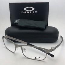 New OAKLEY Eyeglasses TINCUP OX3184-0454 54-17 135 Powder Steel Frames - $269.95