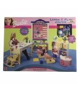 Learn & Play Center School Furniture Set Barbie Dolls Not Included Mattel - $74.44