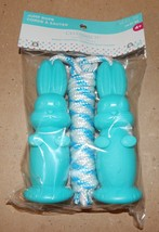 Easter Bunny Jump Rope Basket Stuffers Celebrate It Blue Color 154X - $4.49