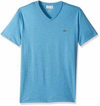 Lacoste Men's Premium Pima Cotton Sport Athletic Jersey V-Neck Shirt T-Shirt image 10