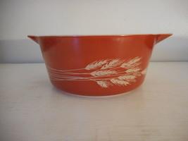 Vintage Pyrex Autumn Harvest Cinderella Casserole Dish Bowl 475 2.5 Quart Litre - $16.82