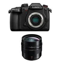 Panasonic Lumix GH5S Digital Camera Black + 12mm F1.4 Asph. Lens - $2,504.84