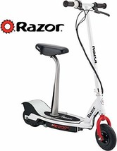 Razor E200S Seated Electric Scooter - White/Red - $264.95