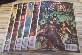 JLA: scary monsters #1-6 (complete mini-series) - $15.00