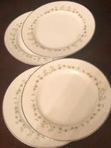 """Sheffield  Elegance 502 Japan Lot of 4 Bread Butter Plate 6-1/4"""" Diam - $22.77"""