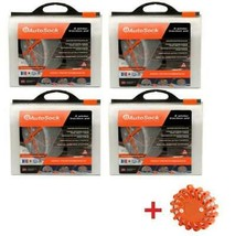 AutoSock HD AL114 (4 Sets) Snow Sock Set With Emergency Safety Flare - $920.65