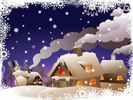 3D Weihnachten Schöne Wolken 47 Fototapeten Wandbild BildTapete Familie DE - $52.21+