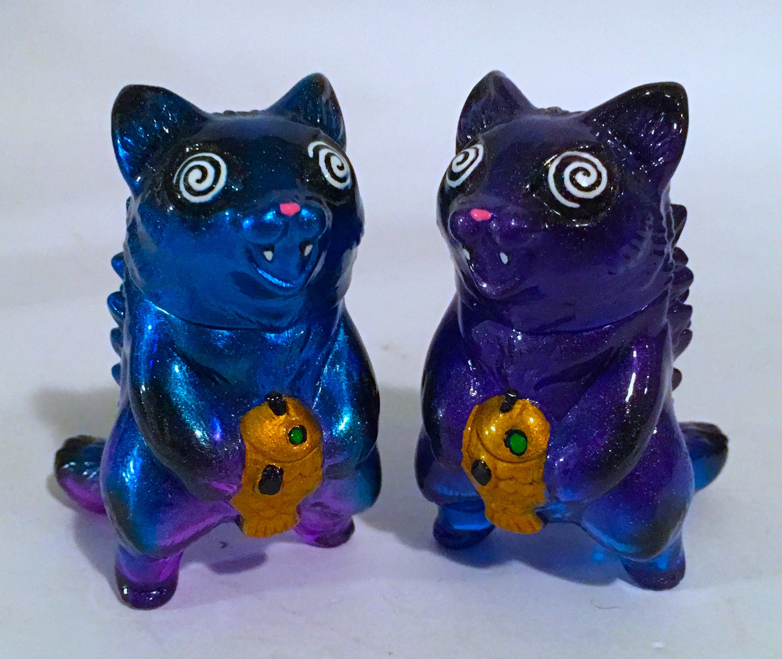 MaxToy x Michael Devera pair of micro Negoras