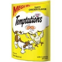 Temptations Classic Treats For Cats Tasty Chicken Flavor 6.3 Ounces - $11.68