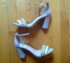Madden Girl Women's Beella Dress Sandal Taupe FAB Size 8 - $21.77